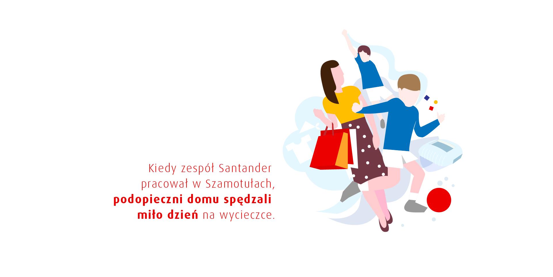 Galeria projektu Santander CSR